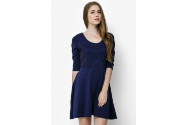 Urban Twist Mini Dress With Lace