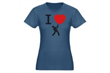 Guitar Music Organic Women's Fitted T-Shirt dark by CafePress