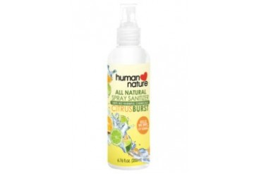 100% Natural Citrus Burst Spray Sanitizer