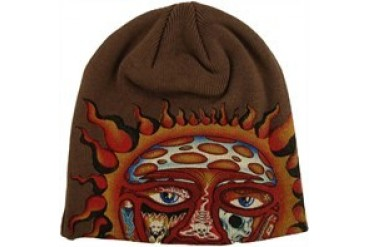 Sublime 40 oz to Freedom Sun with Embroidered Name Printed Beanie