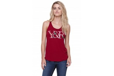 Womens Young & Reckless Tees & Tanks - Young & Reckless Super Core Logo Tank