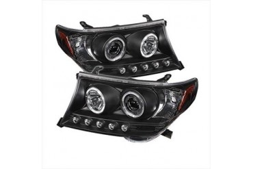 Spyder Auto Group Halo Projector Headlights 5008275 Headlight Replacement