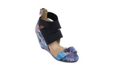 Passion Snake Skin Wedges