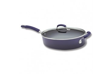Rachael Ray 5qt Covered Oval Saut Pan - Purple