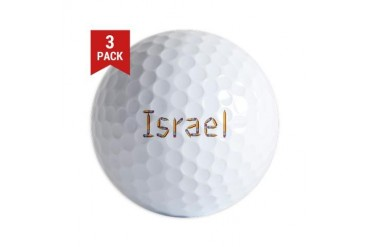 Israel Pencils Israel Golf Balls by CafePress