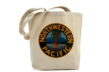 NORTHWESTERN PACIFIC RAILROAD Northwestern Tote Bag by CafePress