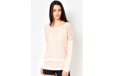 Lace Knit Blouse