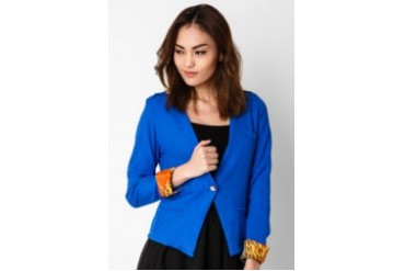 Now & Forever Navy Blue Blazer