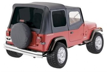 Rampage Complete Soft Top  68215 Soft Tops