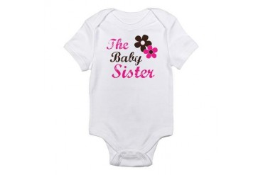 the baby sister t-shirts Infant Bodysuit