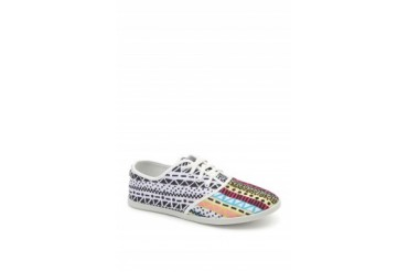 Womens Dolce Vita Shoes - Dolce Vita Ramona Print Sneakers