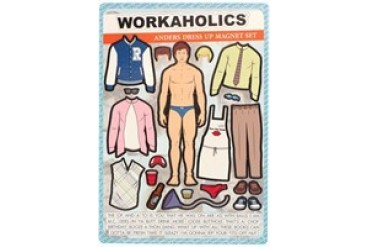 Workaholics Anders Dress Up Magnet Set