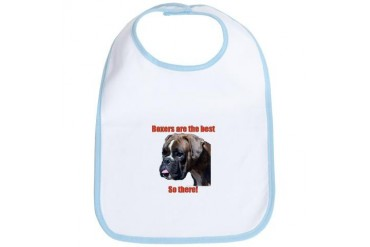 Boxers are the best Dog Bib by CafePress