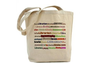 Librarians come in all shapes Librarian Tote Bag by CafePress