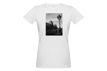 Paris Art Organic Women's T-Shirt by CafePress
