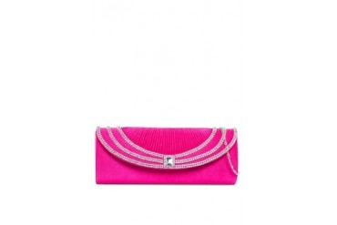 Unisa Dinner Clutch with Sparkling Stones & Crystal Embellishment