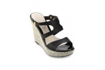 STEFANIA BALDO Mischa Wedges Sandals