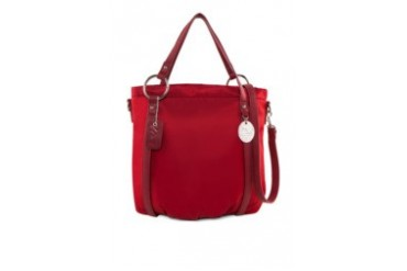 Double Handle Nylon Handbag