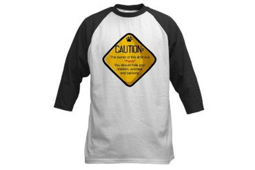 Caution: Furry Fantasy Baseball Jersey by CafePress