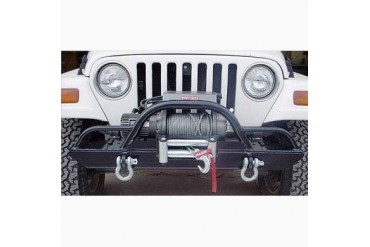 Rock Hard 4x4 Parts Front Winch Mount Bumper with Straight Up Hoop with Extensions  RH4005-CX Front Bumpers