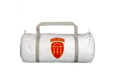 GSDF logo State Gym Bag by CafePress