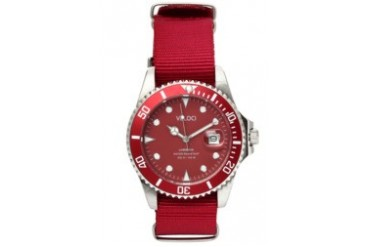 Red Voyager Collection 40mm Watch