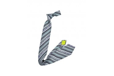 Multicolor Printed Silk Tie