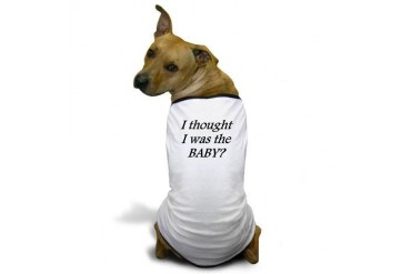 I thought... Baby Dog T-Shirt by CafePress