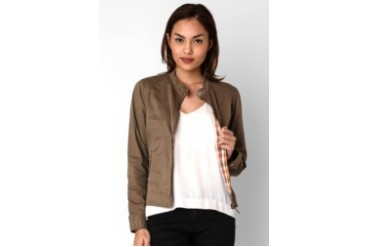 Triset Long Sleeve Jacket Khaky