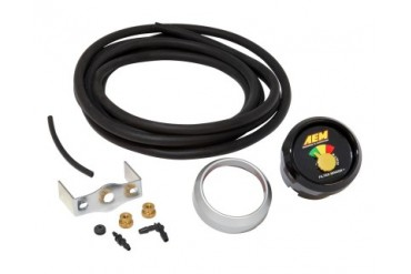 AEM Filter Minder Restriction Gauge 20inch H2O Kit Universal