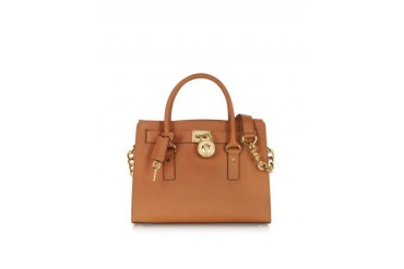 Hamilton Saffiano Leather Satchel