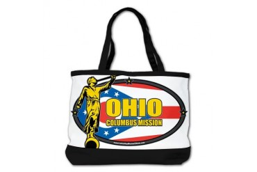 Ohio Columbus LDS Mission Clothing T-Shirts and Gi Gifts Shoulder Bag by CafePress