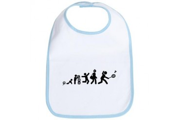 Badminton Sports Bib by CafePress