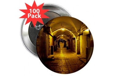 oldcitystreetgreenlight.jpg 2.25 Button 100 pack Travel 2.25 Button 100 pack by CafePress