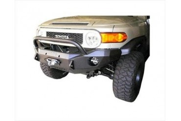 Road Armor Front Stealth Winch Bumper with Bull Bar in Satin Black FJ802B Front Bumpers