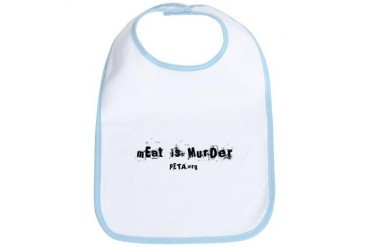 meat1 copy.jpg Animal Bib by CafePress