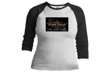 Ameelah's Desert Jewels Belly Dance Jr. Raglan by CafePress