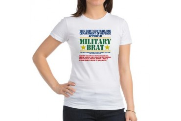 Military Brat Military Jr. Jersey T-Shirt by CafePress