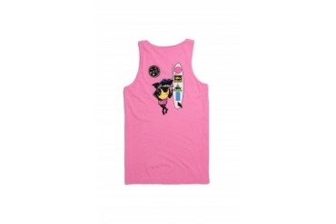 Mens Maui & Sons Tank Tops - Maui & Sons Arnold Sharkley Tank Top
