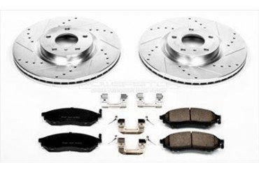 Power Stop Performance Brake Upgrade Kit K112 Replacement Brake Pad and Rotor Kit
