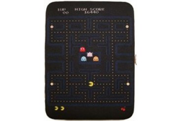 Namco Pac-Man Start and Game Over Screens Clutch Wallet