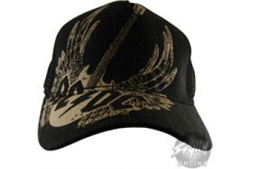 ACDC GUITAR WINGS Mesh Adjustable Hat