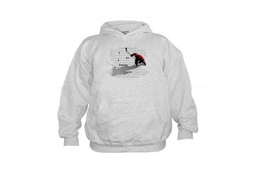I Am A Hockey Player Kids Hoodie