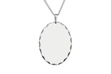 Pretend2.png Humor Necklace Oval Charm by CafePress