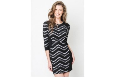 Coley Cuffed Striped Dress