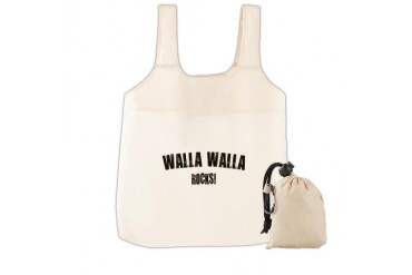 Walla Walla Rocks Location Reusable Shopping Bag by CafePress