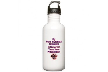 JRTPRESIDENT.png Pets Stainless Water Bottle 1.0L by CafePress