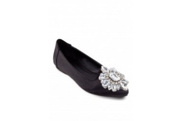 Angelina Jewel Encrusted Loafers