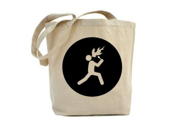 Fire Eating Humor Tote Bag by CafePress