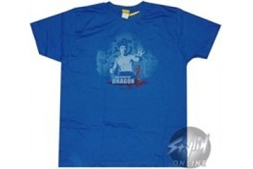 Bruce Lee Blue T-Shirt Sheer
